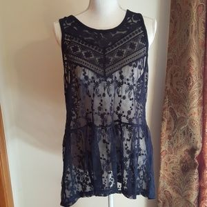 EXPRESS Lace Tunic